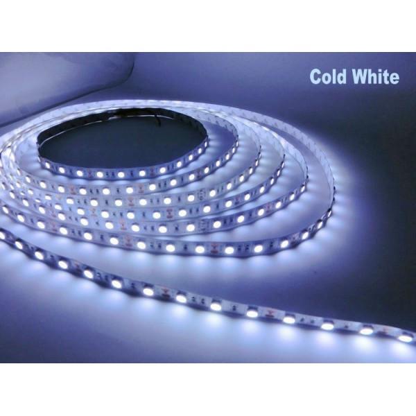 Светодиодная лента LED 5050 - 12W 5 метров White