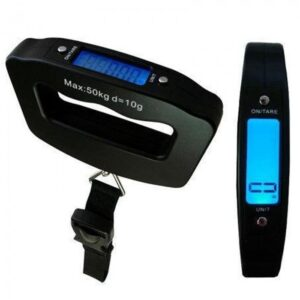 Весы дорожные для взвешивания багажа NBZ LED до 50 кг S019