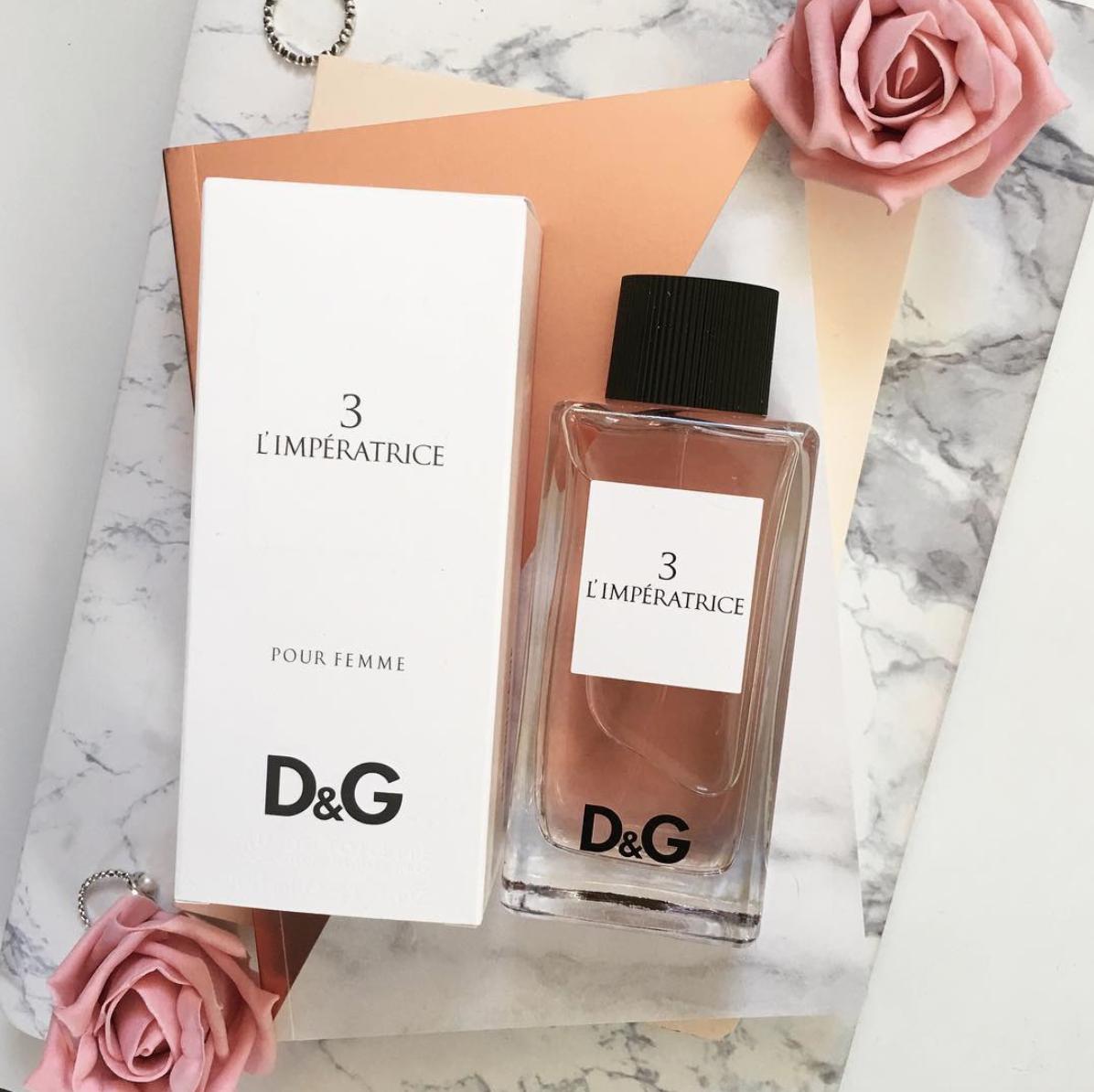 Женская туалетная вода Dolce & Gabbana 3 L'Imperatrice LUX качество Реплика