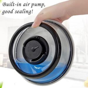 Вакуумная многоразовая крышка - vacuum food sealer RS-37
