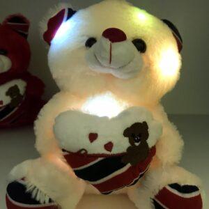 Мягкая игрушка светящийся мишка Тедди