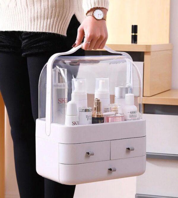 Органайзер для косметики с защитой от воды Cosmetic Storage Box TV000839, кейс для косметики