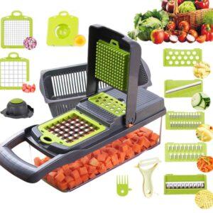 Овощерезка-измельчитель Veggie Slicer 14 в 1, ситечко для яиц и нож для очистки овощей KA-808