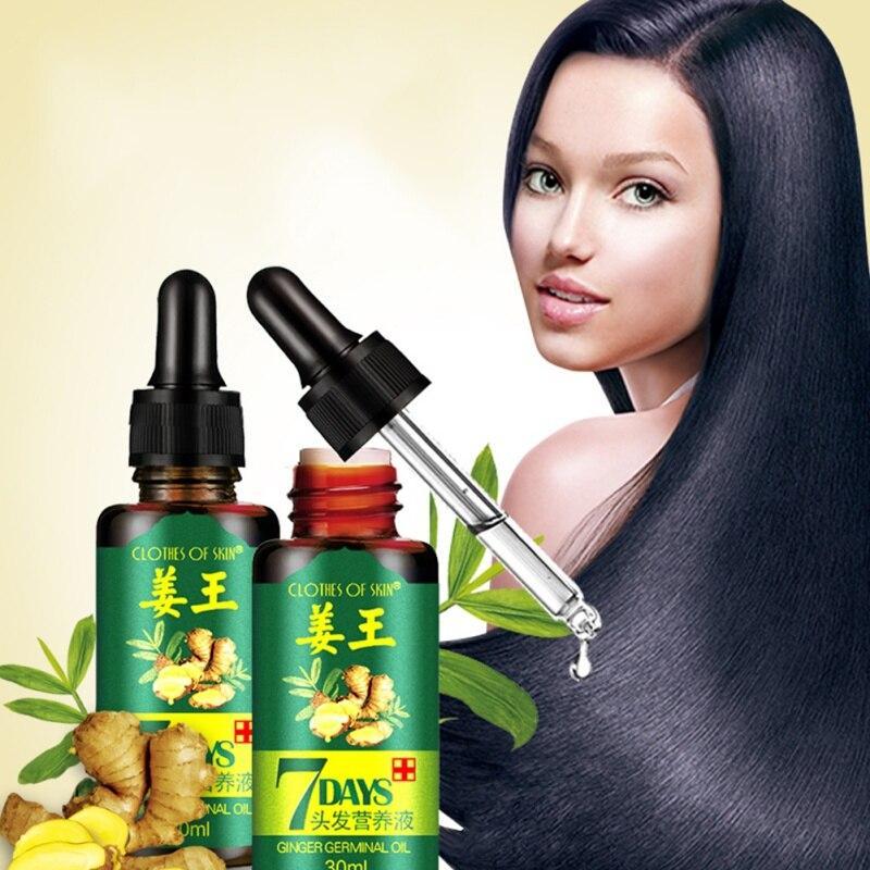 Имбирное масло против выпадения волос 7 days, 30 мл