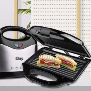 Электрическая сендвичница бутербродница прижимная гриль DSP KC1056 750 Вт