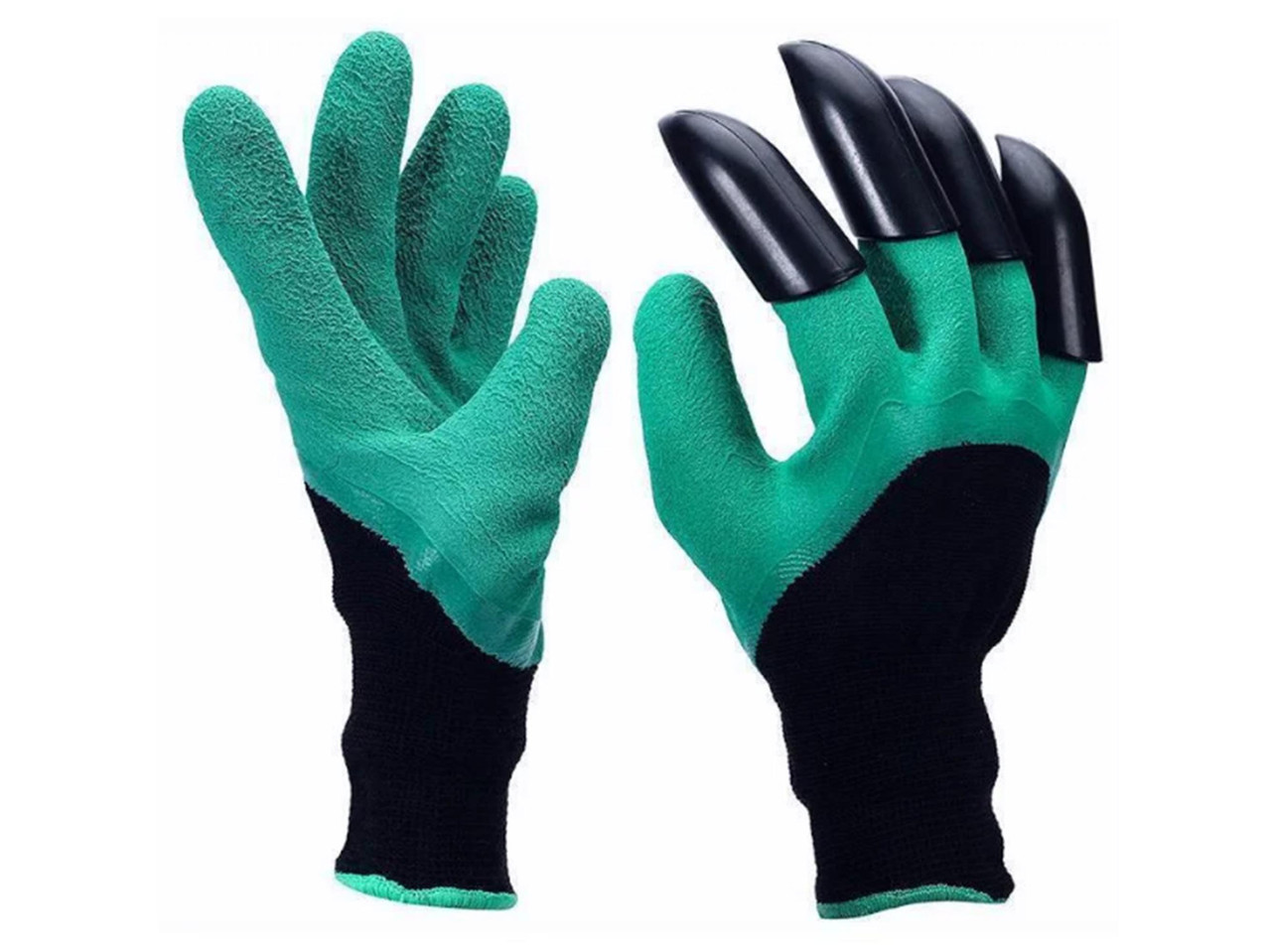 Садовые перчатки с когтями Garden Genie Glovers