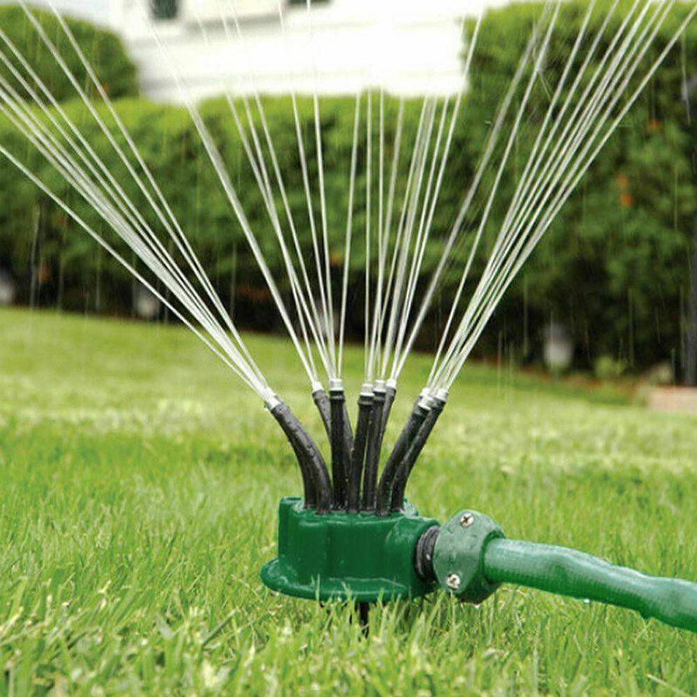 Умная система полива Multifunctional sprinkler распылитель дождеватель для полива газона на 360 градусов