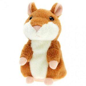 Детская интерактивная мягкая игрушка Говорящий хомяк-повторюшка, Легендарный говорящий хомяк