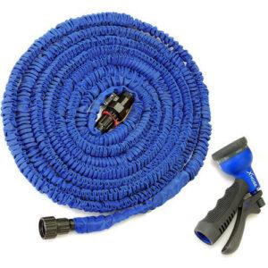 Шланг для полива 45 метров X-hose, садовый поливочный шланг 45 м, шланг-гармошка для полива