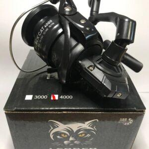 Катушка Leader Black Cat 4000 5BB ПФ (усиленнный корпус)