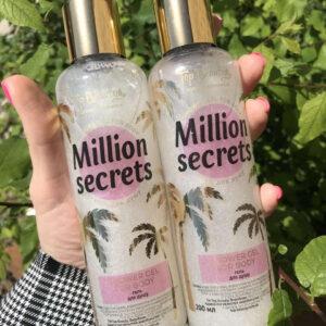 Гель для душа с мерцанием Top Beauty Million Secrets 200 мл