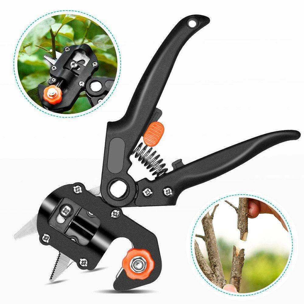 Профессиональный прививочный секатор Grafting Tool с 3 ножами для обрезки и прививки деревьев