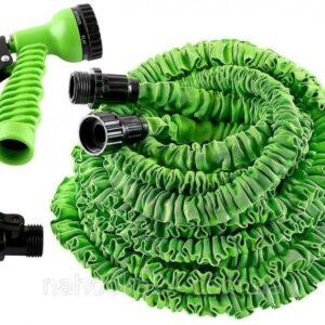 Шланг для полива X HOSE 75 м с распылителем, садовый шланг, поливочный шланг для сада