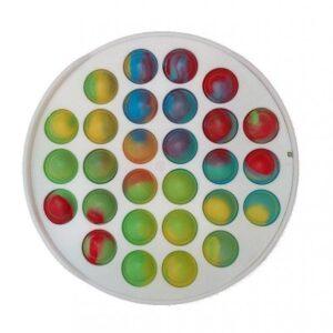 Антистресс для ребенка пуш ит Simple Dimple поп ит платиковый корпус круг  MK012