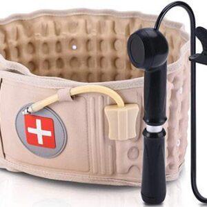Пояс массажер для поясничного отдела Spinal Air Traction Belt Waist Brace