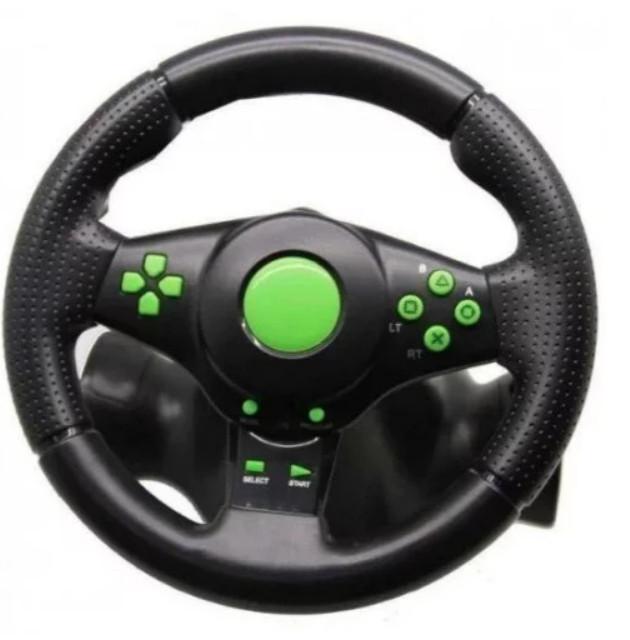 Профессиональный Руль игровой PS3/PS2/PC Usb