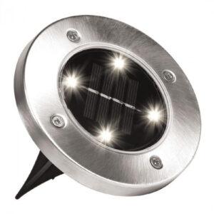 Уличный светильник на солнечной батарее Solar Disk 8led-dm8 – садовый фонарь
