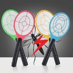 Ракетка убийца комаров и мух 704