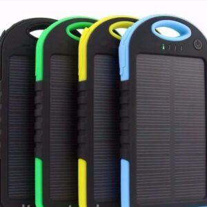 Портативное зарядное Power Bank Solar 30000 mAh на солнечной батарее