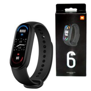 Фитнес браслет Smart Mi Band M6 с измерением кислорода и давления. Более 10 функций Реплика