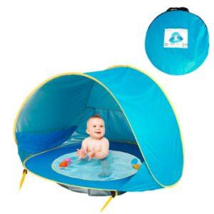 Палатка детская с бассейном автоматическая (WM-BABY POOL)