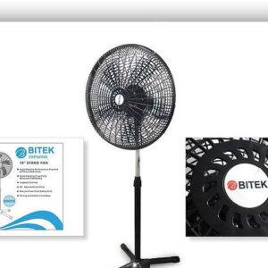 Вентилятор мощный напольный BITEK 46см 40Вт 5 пласт. лоп. BT-1881