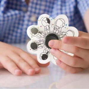 Антистресс для ребенка Игрушка антистресс спиннер с анимацией Разные Расцветки! Хит 2021