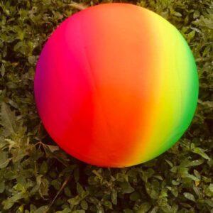 Пляжный надувной мяч Радуга