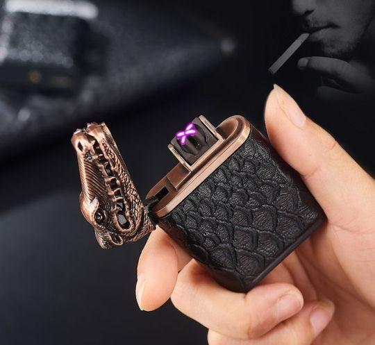 USB зажигалка плазменная Крокодил Lacoste