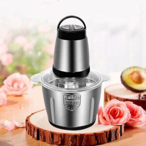 Кухонный измельчитель-блендер zp050 250W. Металлическая чаша 2л. Двойное лезвие