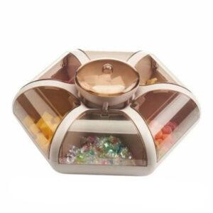 Органайзер для сладостей, фруктов, орехов Combination Fruit Plate 1 ярус/7отсеков большой