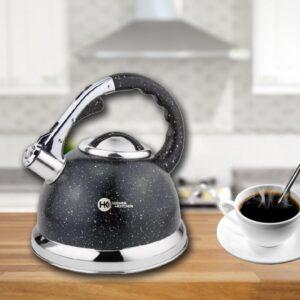 Чайник со свистком гранитный HIGHER+KITCHEN ZP-021 3.5 л