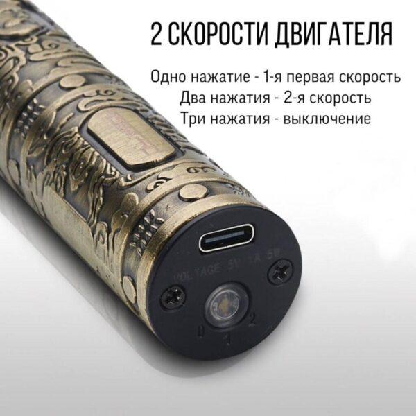 Аккумуляторная машинка-триммер для стрижки волос, бороды, усов VGR V-085