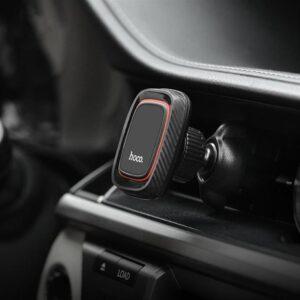 Магнитный держатель холдер для телефона в машину Hoco CA23 Magnetic Air Outlet Holder автодержатель