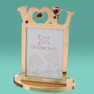 """Фоторамка """"Love"""" Crystocraft 0437-042"""