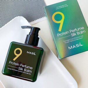 Несмываемый бальзам для защиты волос Masil 9 Protein Perfume Silk Balm, 180мл