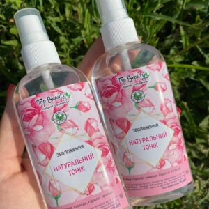 Увлажняющий тоник для лица на основе гидролатов разных видов роз и цветочной воды Top Beauty 100 мл