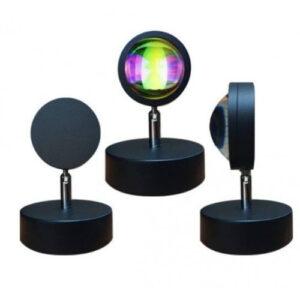 Лампа LED для селфи еффект солнца (16см)
