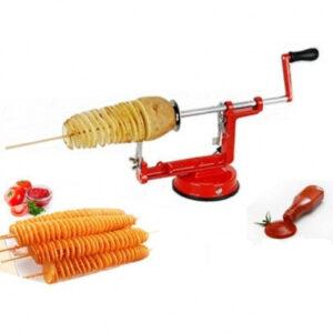 Машинка для резки картофеля спиралью SPIRAL POTATO SLICER Чипсы Top Trends TM-119