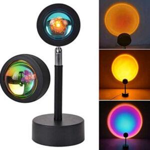 Лампа LED для селфи еффект солнца (23см) Sunset Lamp