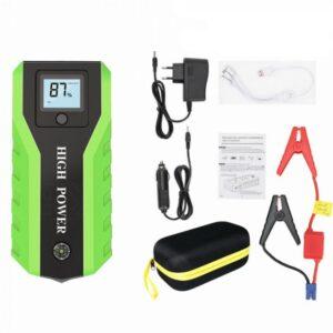 Пускозарядное автомобильное устройство многофункциональное с аккумулятором Jumpstarter TM19A 82800 mAh