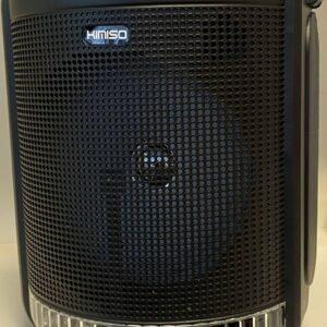 Портативная колонка Kimiso QS-4001 с микрофоном и пультом (USB/BT/FM)