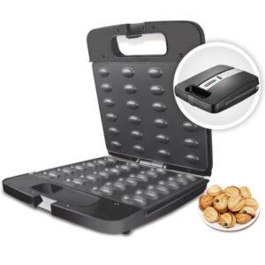 Электрическая орешница прижимная вафельница на 24 орешка DSP KC1154 1400W