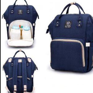 Сумка-рюкзак для мам MOTHER BAG el-1230 СИНЯЯ