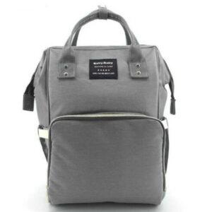 Сумка-рюкзак для мам MOTHER BAG el-1230 СЕРАЯ
