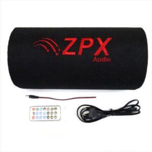 """Автомобильный сабвуфер колонка в машину ZPX 5"""" Cm 500W с усилителем и Bluetooth Колонка в авто"""