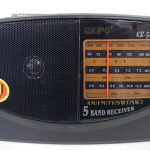 Портативный радиоприемник на батарейках KIPO KB-308AC