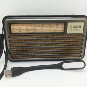 Качественное Радио на солнечной батарее Meier M-521BT-S