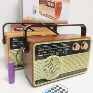 Радиоприемник Kemai Retro MD-506 BT аккумуляторный + пульт ДУ