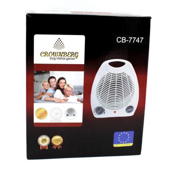 Тепловентилятор, обогреватель дуйка Crownberg CB-7747